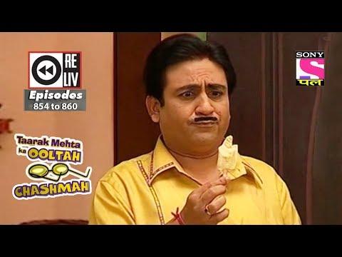 Weekly Reliv - Taarak Mehta Ka Ooltah Chashmah - 25th Nov to 01st Dec 2017 - Episode 854 to 860