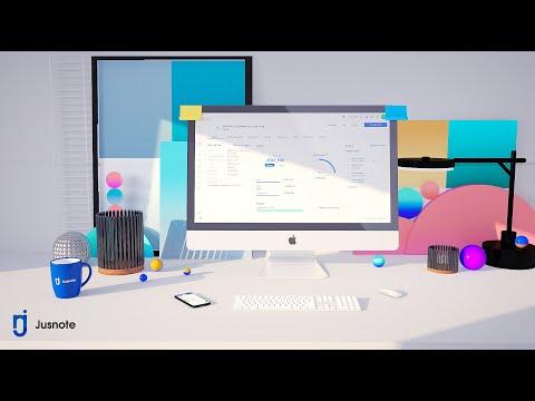Видеообзор Jusnote
