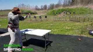 Wild Bunch at Sandoval Range, Illinois Jean Duke shooting Men Modern Category (two-handed)