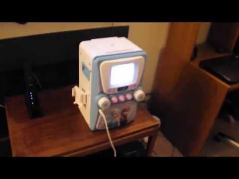 Disney Frozen Karaoke Machine With Monitor Plus Bonus Cd G