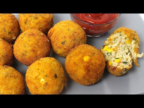 Chicken Spaghetti Balls Recipe
