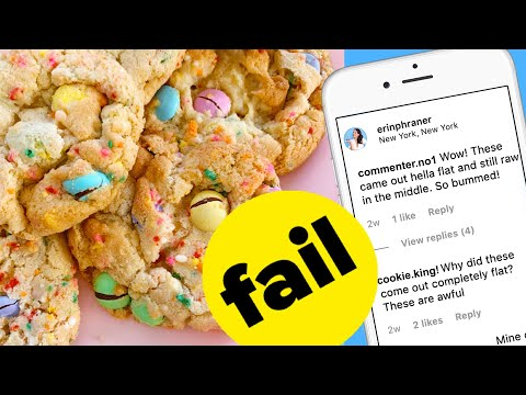 Commenters Found A GIANT Mistake In My Cookie Recipe!