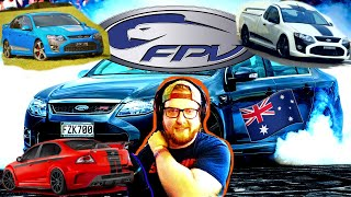 American Learns about Australia's FPV (Ford Performance Vehicles)
