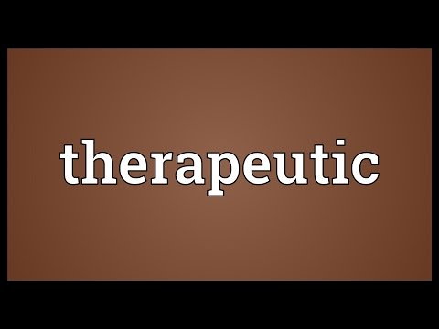 Video Therapeutic Meaning
