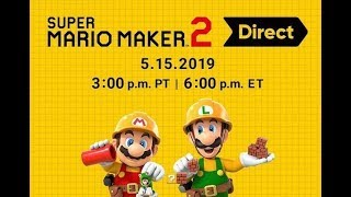 Super Mario Maker 2 Direct. EN VIVO - StarGin Games