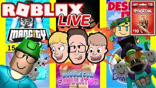 🔴 Roblox LIVE with Schlamaddy 🔴 | Weekly Robux Giveaway