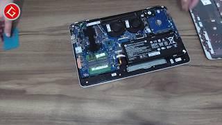 HP PAVILION GAMING 15-BC004NT - X0L73EA SSD MONTAJI NASIL YAPILIR  SSD Assembly