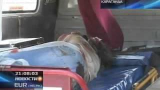 В Караганде автобус сбил сразу несколько человек