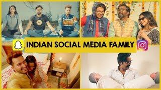 The Social Media Family | Kahani Ghar Ghar Ki