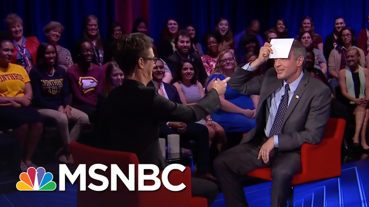 Martin O'Malley Impractical Clothing Item | Democratic Forum | MSNBC thumbnail