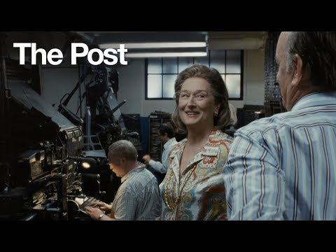 The Post (TV Spot '#1 Movie of the Year')
