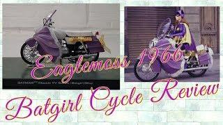 Eaglemoss Automobilia Review: 1966 Batgirl Cycle