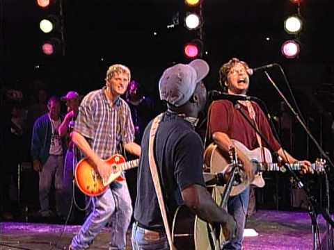 Hootie and the Blowfish ft. Radney Foster - A Fine Line (Live at Farm Aid 1995)