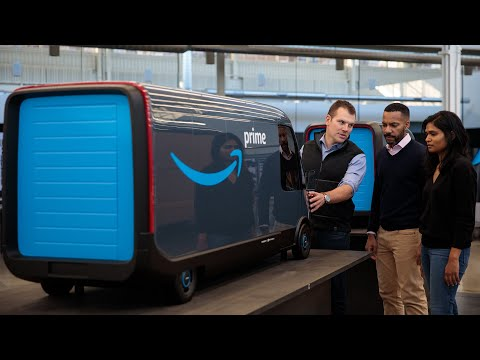 Inventing Amazon's electric delivery vehicle