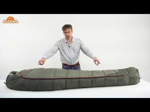 Смотреть видео Спальный мешок Alexika Nord