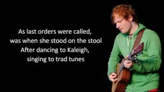 Galway girl - Ed Sheeran (lyrics)