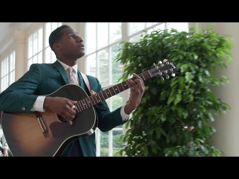 Leon Bridges - Backstage at the White House