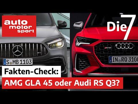 Audi RS Q3 vs. Mercedes-AMG GLA 45: Welcher ist besser? 7 Fakten zu den Power-SUV | auto motor sport