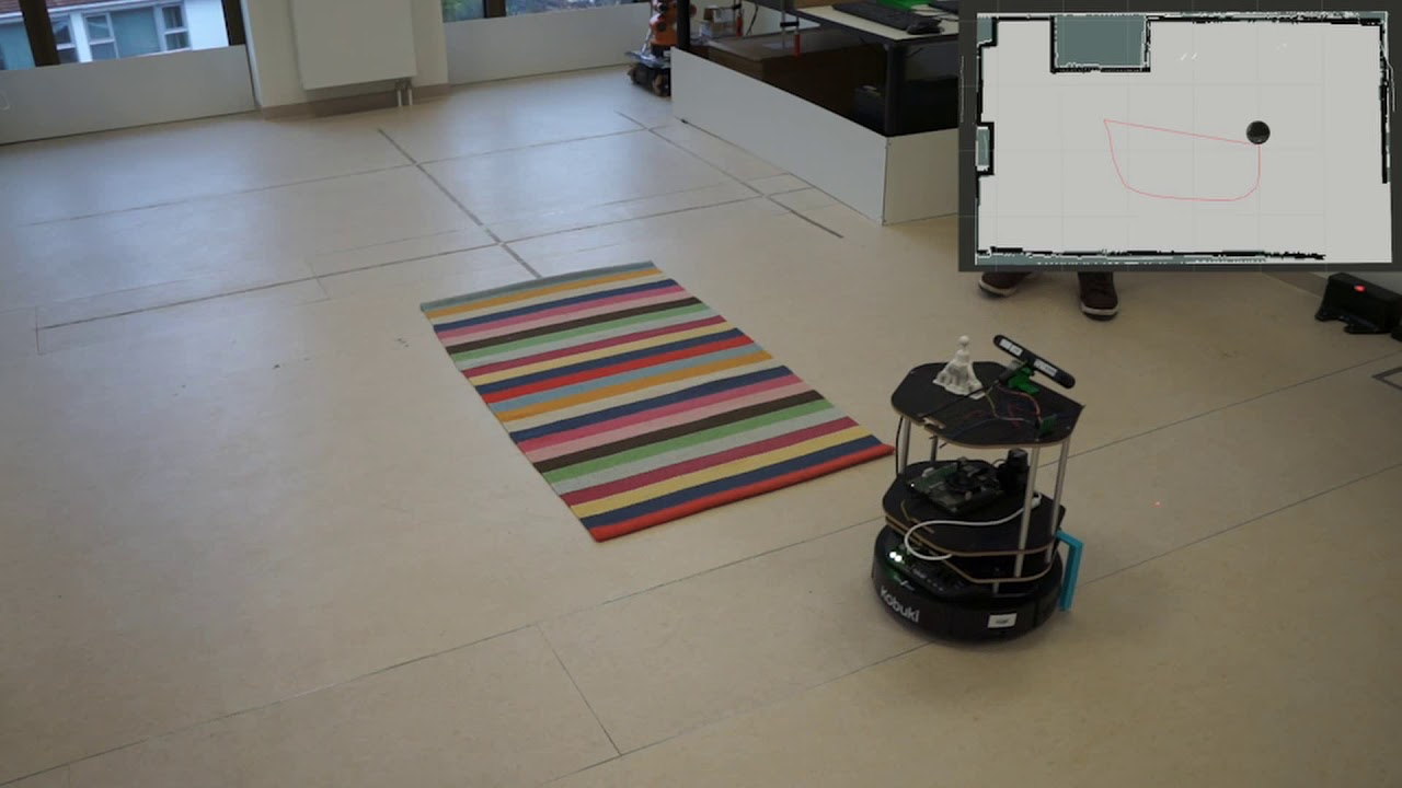 Seerose – Learning Robot's Virtual Borders Using a Laser Pointer
