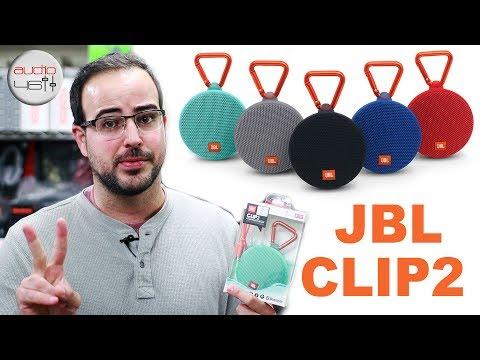 JBL CLIP2. Altavoces Bluetooth a prueba de agua.