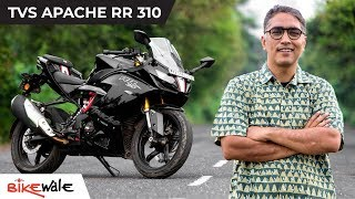 TVS Apache RR 310 A Well Rounded Entry Level Supersports, But…