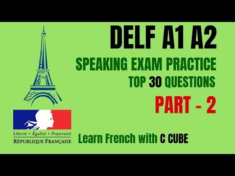 French DELF A1 A2 Speaking Exam Test Practice - Top 30 ...