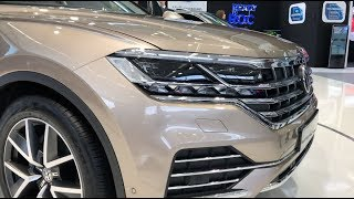 2019 Volkswagen Touareg - first look and review in 4K