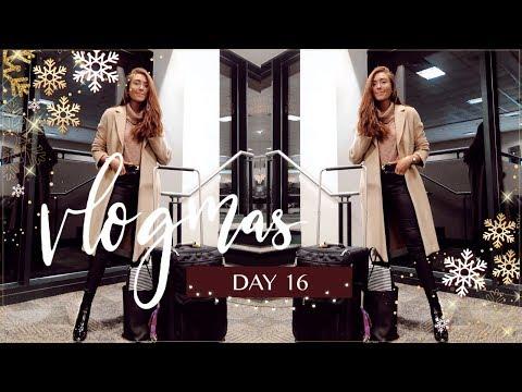 TRAVEL DAY | Vlogmas 2018 Day 16