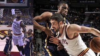 LeBron James vs Paul George! Both Drop 40, Dunk on Each Other! 2OT