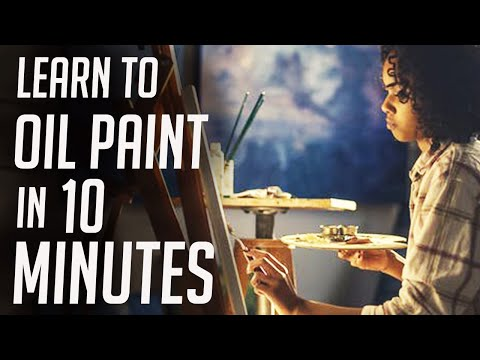 A Crash Course on How to Oil Paint