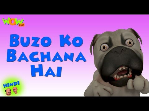 Buzo Ko Bachana Hai - Motu Patlu in Hindi WITH ENGLISH, SPANISH & FRENCH SUBTITLES