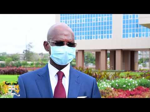 En fin de mission, Siaka COULIBALY part satisfait des transformations positives en cours au Bénin. En fin de mission, Siaka COULIBALY part satisfait des transformations positives en cours au Bénin.