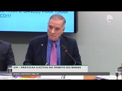 CPI do BNDES toma depoimento de Eike Batista - 06/08/2019 - 14:42