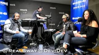 """Obie Trice performs """"Richard"""" live on #SwayInTheMorning's in-studio Concert Series"""