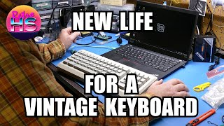 Using A Vintage Apple Keyboard With A Modern Computer