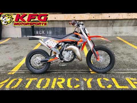 2016 KTM 65 SX in Auburn, Washington - Video 1