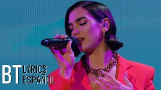 Calvin Harris, Dua Lipa   One Kiss (Lyrics + Español) Live