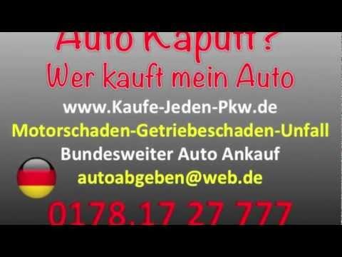Auto Kaputt  Verkaufen - kaputtes Auto verkaufen in NRW
