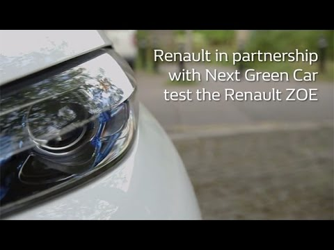 Renault ZOE video review by Next Green Car