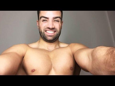 Die Erhöhung der Brust mit 3 auf 4