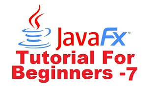JavaFx Tutorial For Beginners 7 - Styling with CSS in  JavaFX