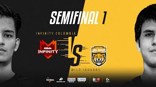 Infinity Esports Colombia VS Wild Jaguars | Semifinales | Golden League Clausura - Playoffs | Mapa 1