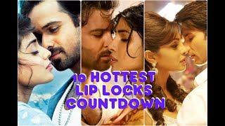10 -Bollywood hot Lip Locks Kisses Video ||