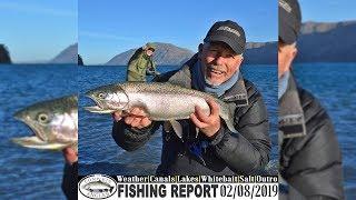 Lake Coleridge Winter Fishing - Complete Angler Fishing Report 02.08.2019