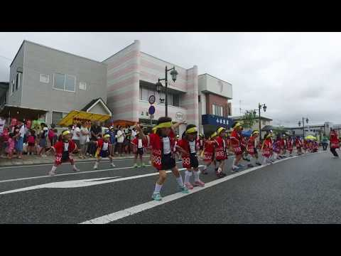 第45回千厩夏まつり:清心幼稚園遊戯(2017.7.29)