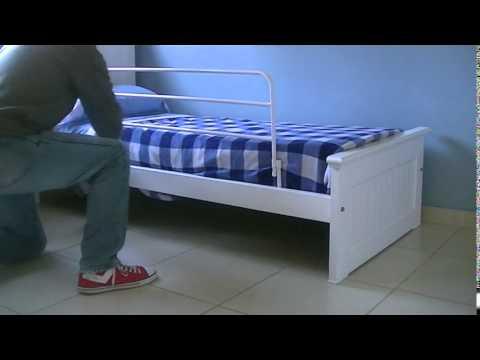 Baranda para cama niños