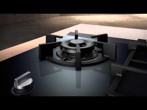 Siemens Gas Kochstellen mit dualWok Burner