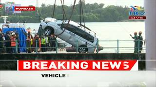 LIKONI FERRY UPDATE: Car pulled out, bodies of Mariam and Amanda removed