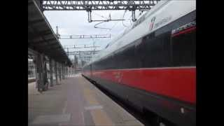 preview picture of video 'Roma Tiburtina mit ETR 500 - ETR 600 - Regionalzüge (E.464)'