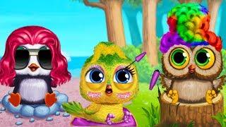 Салон Красоты для Птенцов/Baby Animal Hair Salon 3.Красивые Прически для Малышей.Мультик Игра